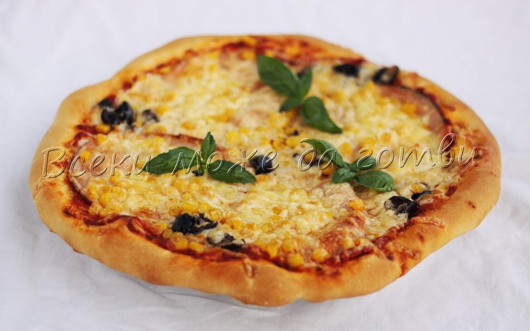 Ето така се прави тънка и хрупкава пица у дома!