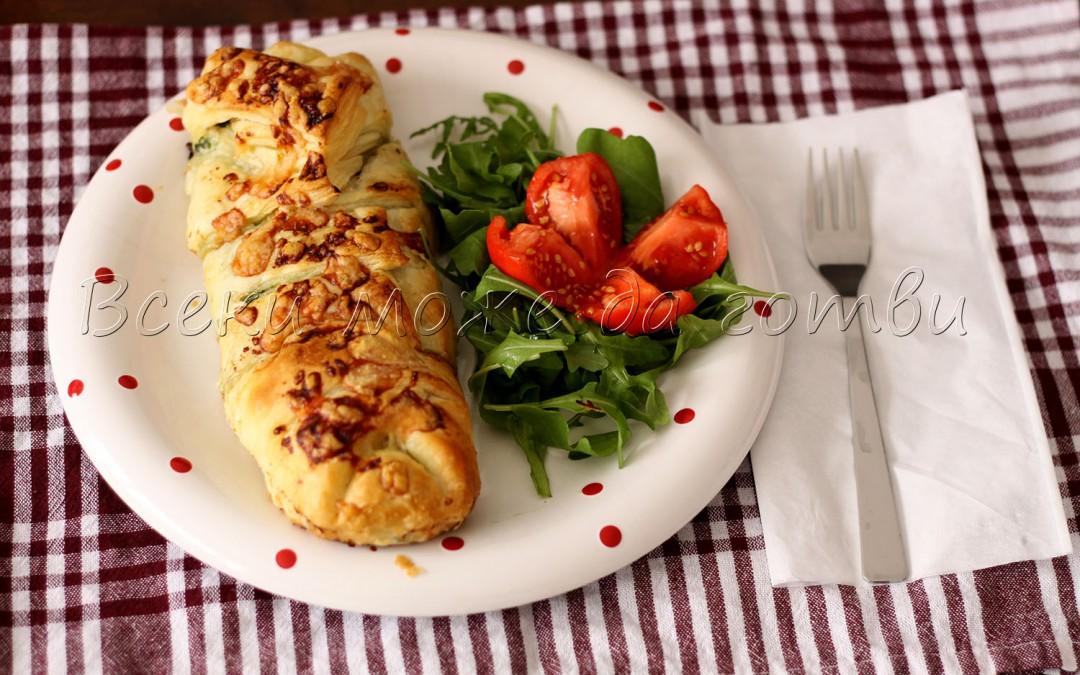 Фантастична бутер вкусотийка със спанак и пилешко
