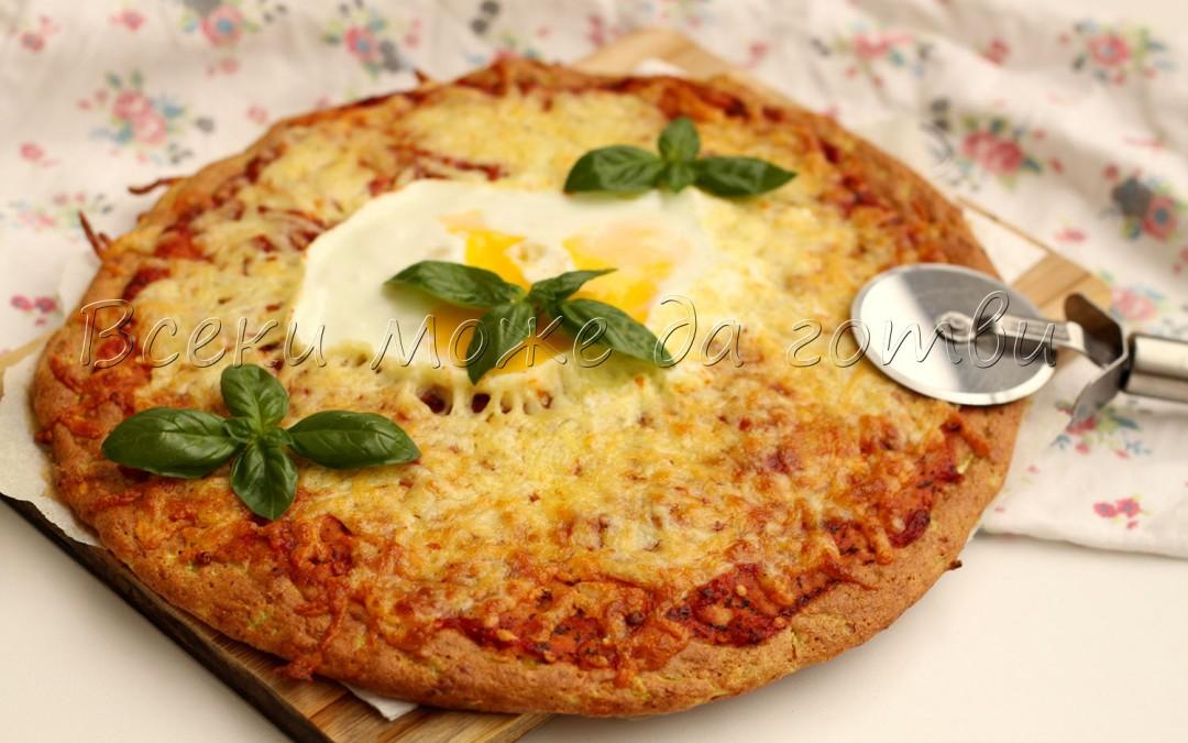 Приготвих лесна и бърза пица с тиквички – ето я рецептата