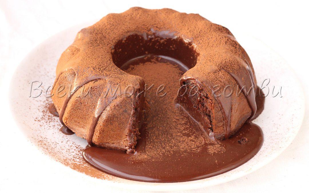 """Необикновен кекс """"Разтичащ се шоколад"""" – ето я точната рецепта!"""