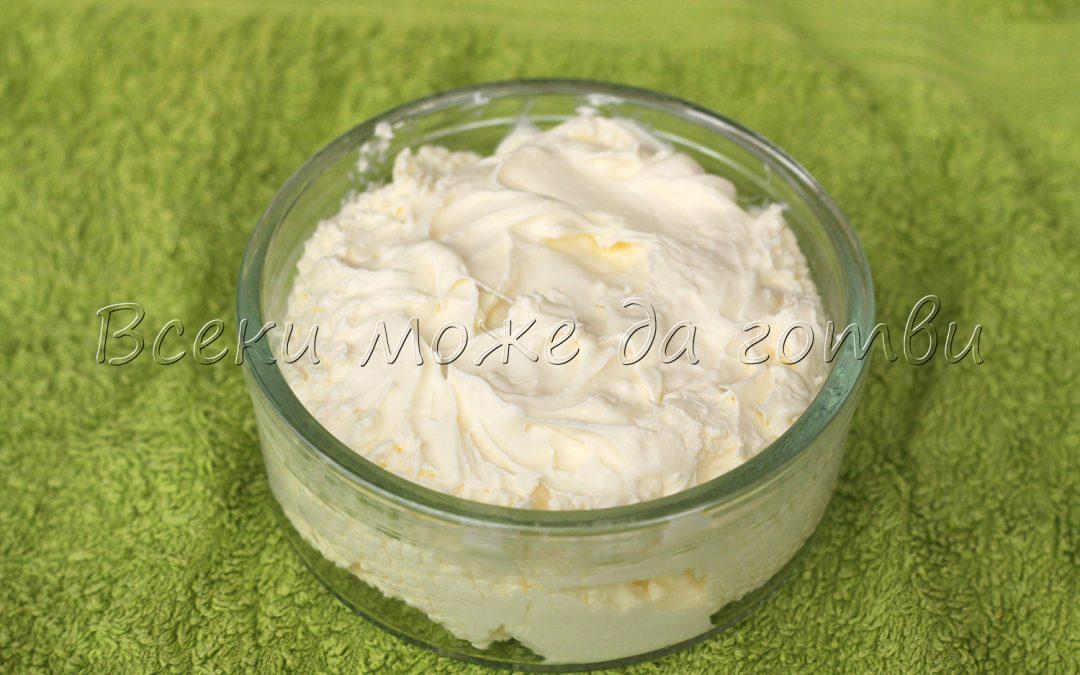 Домашно маскарпоне с 2 продукта – вижте една лесна рецепта