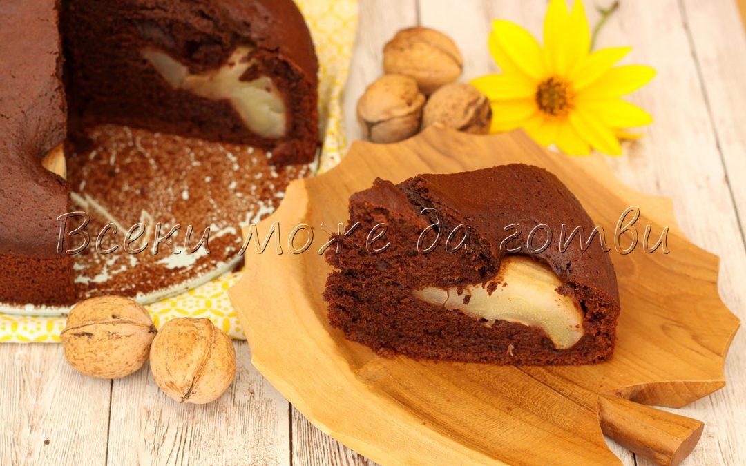 Кекс с круши и какао – разкошна рецепта за есента