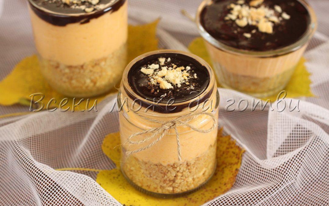 Бърз десерт в чаша – готов е за 10 минути