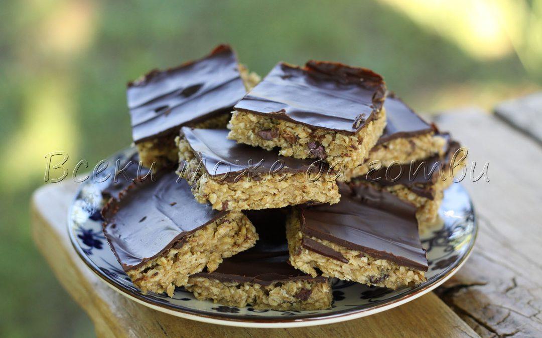 Барчета с тахан и шоколад – неустоима вкусотия за 10 минути