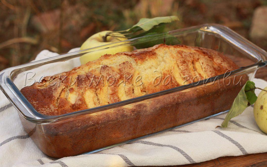 Пухкав и ароматен кекс с ябълки – чудесна идея за сладкиш (ВИДЕО)