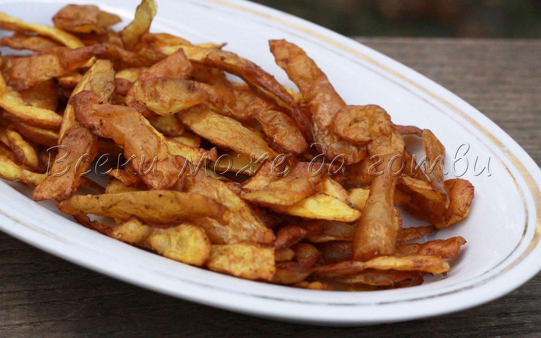 Чипс от картофени обелки – бърза, лесна и вкусна рецепта